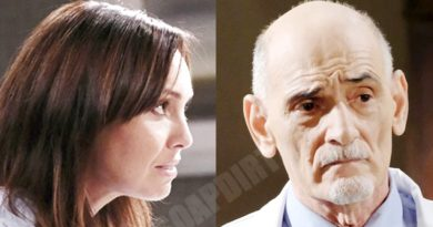 Days of our Lives Spoilers: Gwen Rizczech (Emily O'Brien) - Wilhelm Rolf (William Utay)
