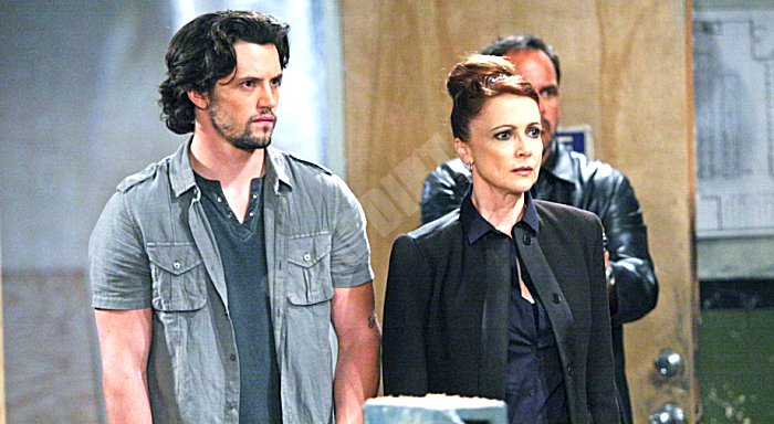 General Hospital Comings And Goings: Ethan Lovett (Nathan Parsons) - Holly Sutton (Emma Samms)