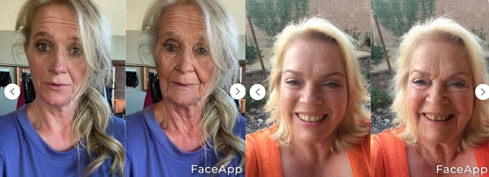Sister Wives: Christine Brown - Janelle Brown aged