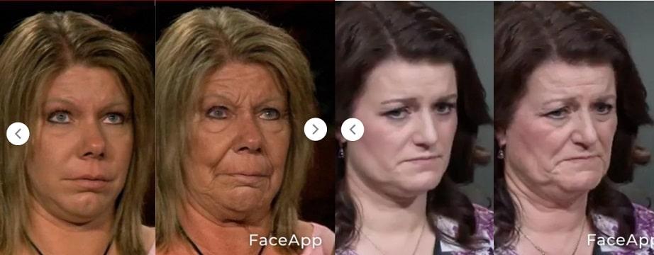 Sister Wives: Meri Brown - Robyn Brown Aged