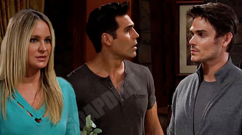 Young and the Restless Spoilers: Adam Newman (Mark Grossman) - Sharon Newman (Sharon Case) - Rey Rosales (Jordi Vilasuso)