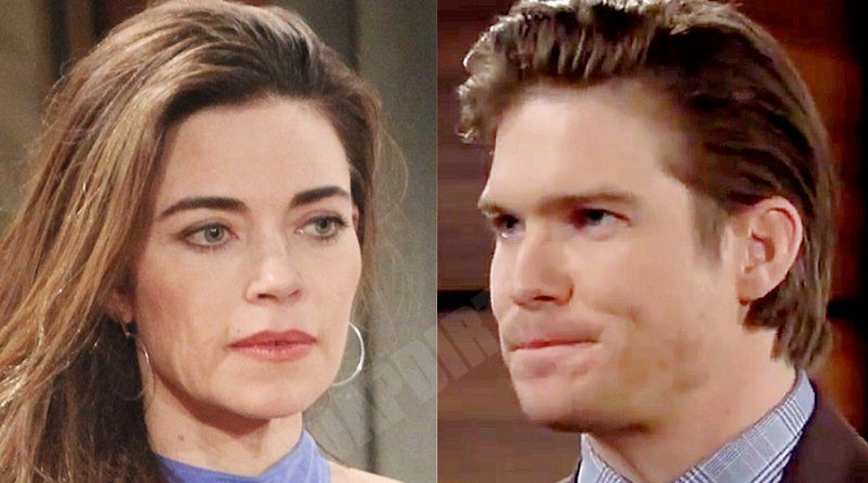 Young and the Restless Spoilers: Victoria Newman (Amelia Heinle) - Theo Vanderway (Tyler Johnson)