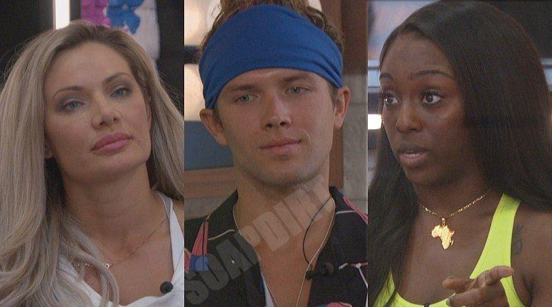 Big Brother: Janelle Pierzina - Tyler Crispen - Da'Vonne Rogers