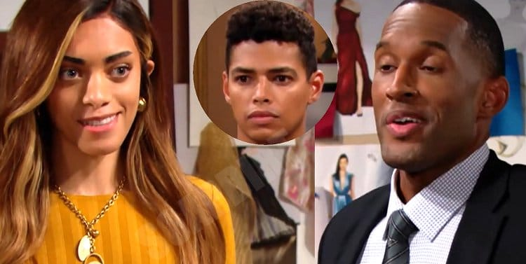 Bold and the Beautiful Spoilers: Carter Walton (Lawrence Saint-Victor) - Zende Forrester (Delon de Metz) - Zoe Buckingham (Kiara Barnes)