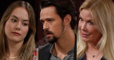Bold and the Beautiful Spoilers: Hope Logan (Annika Noelle) - Thomas Forrester (Matthew Atkinson) - Brooke Logan (Katherine Kelly Lang)