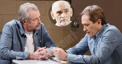 Days of our Lives Spoilers: Dr Wilhelm Rolf (William Utay) - Orpheus - Milo Harp (George Del Hoyo) Clyde Weston (James Read)