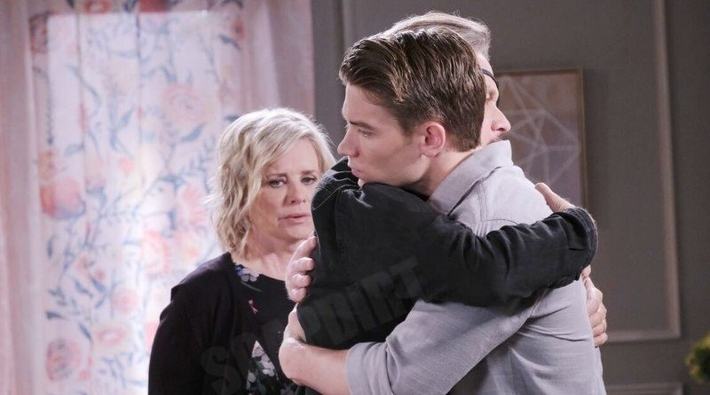 Days of our Lives Spoilers: Tripp Dalton (Lucas Adams) - Steve Johnson (Stephen Nichols) - Kayla Brady Mary Beth Evans)
