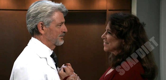 General Hospital Comings And Goings: Dr Kirk (Christopher Cousins) - Liesl Obrecht (Kathleen Gati)
