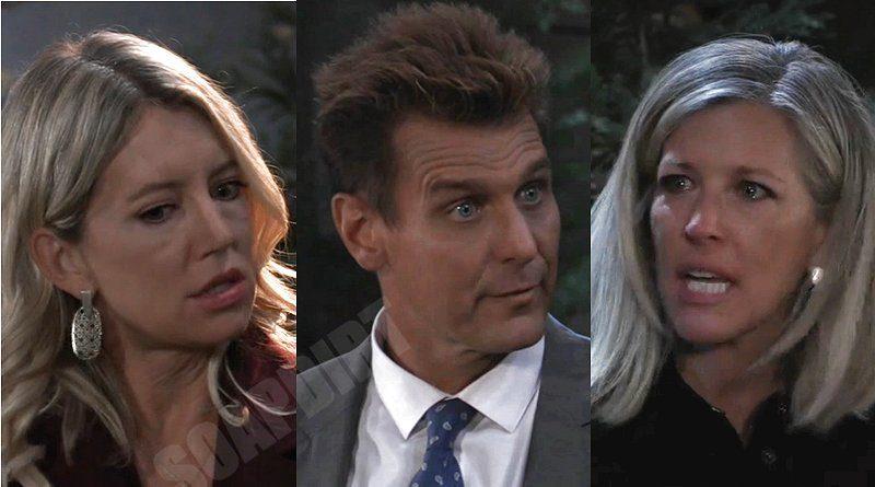 General Hospital Spoilers: Carly Corinthos (Laura Wright) - Jasper Jacks (Ingo Rademacher) - Nina Reeves (Cynthia Watros)