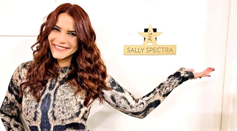 Young and the Restless Comings & Goings: Sally Spectra (Courtney Hope) - Bold and the Beautiful