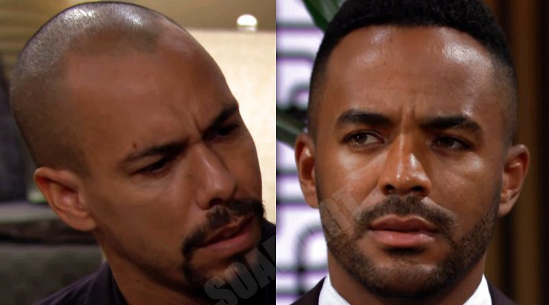Young and the Restless Spoilers: Devon Hamilton (Bryton James) - Nate Hastings (Sean Dominic)