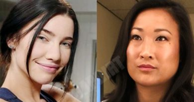 Bold and the Beautiful Spoilers: Dr Campbell (Tina Huang) - Steffy Forrester (Jacqueline MacInnes Wood)