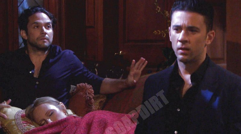 Days of our Lives Spoilers: Abigail Deveraux (Marci Miller) - Chad DiMera (Billy Flynn) - Jake Lambert (Brandon Barash)