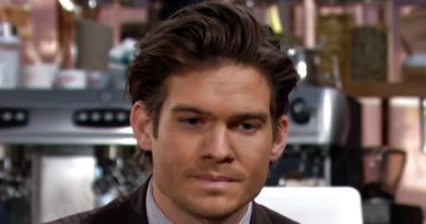 Young and the Restless Comings and Goings: Theo Vanderway (Tyler Johnson)
