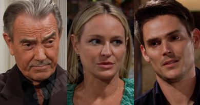 Young and the Restless Spoilers: Victor Newman (Eric Braeden) - Sharon Newman (Sharon Case) - Adam Newman (Mark Grossman)